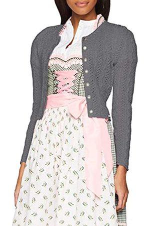 Giesswein Strickjacke Gerhild - Damen Strick Jacke aus 100% Schurwolle, taillierte Dirndljacke, kurzes Jäckchen mit Zopfmuster, Dirndl Jacke