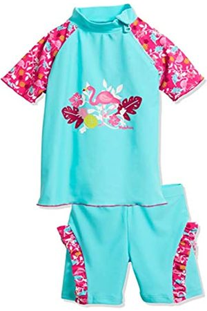 Playshoes Baby-Mädchen UV-Schutz Bade-Set Flamingo Badebekleidungsset