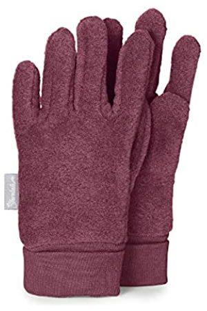 Sterntaler Fleece-Fingerhandschuhe mit elastischem Umschlag, Alter: 7-8 Jahre, Größe: 5