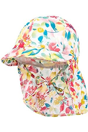 maximo Baby-Mädchen Schildmütze, Nackenschutzmütze Mütze