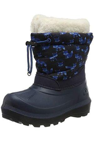 Viking Unisex-Kinder Snowfall Fox Schneestiefel, (Navy/Navy 505)