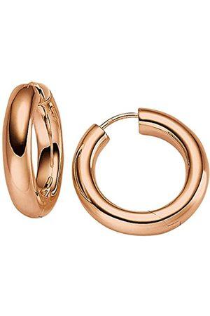 Viventy Damen-Creolen Silber vergoldet rhodiniert - 771834