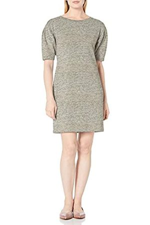 Daily Ritual Terry Cotton and Modal Pleated-Sleeve Sweatshirt Dresses