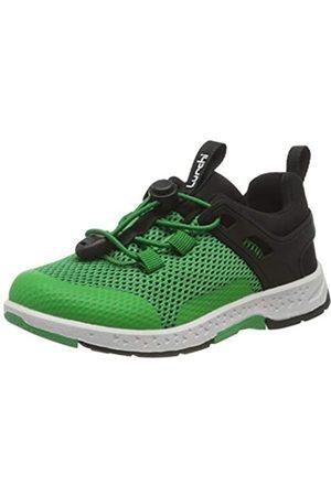 Lurchi Jungen LIRIX Sneaker, (Green Black 36)
