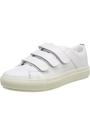 HUGO BOSS Damen Hackney-C Sneaker, (White)