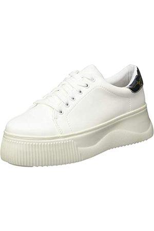 LPB Damen OLI Sneaker, (Blanc Uni)