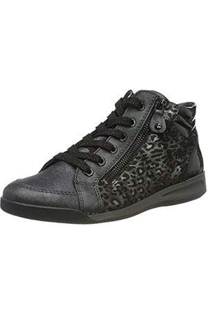 ARA Damen ROM 1244407 Hohe Sneaker, (Iron, / 15)