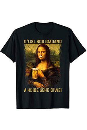 Devin Shirts Mona Lisa - Die Lisa hat gemeint eine Halbe geht immer
