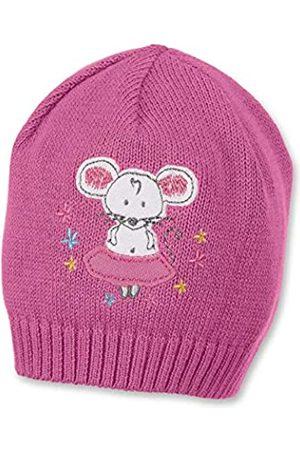 Sterntaler Strickmütze für Mädchen mit niedlicher Maus, Alter: 5-6 Monate, Größe: 43