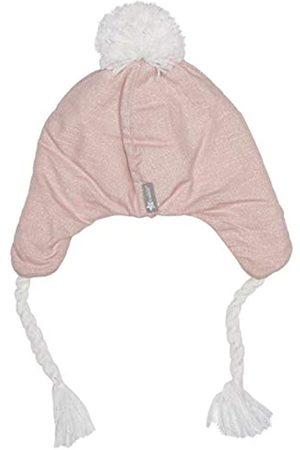 Sterntaler Inka-Mütze für Mädchen mit Bommel und Bindebändern, Alter: ab 2-4 Jahre, Größe: 53