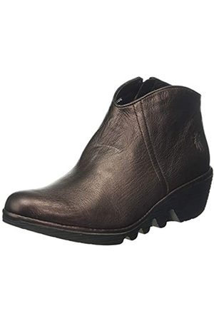 Fly London Damen Pevo092fly Kurzschaft Stiefel, (Burgundy 007)