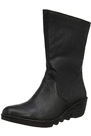 Fly London Damen Pono089fly Kurzschaft Stiefel, (Black 004)