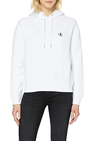Calvin Klein Damen Ck Embroidery Hoodie Kapuzenpullover