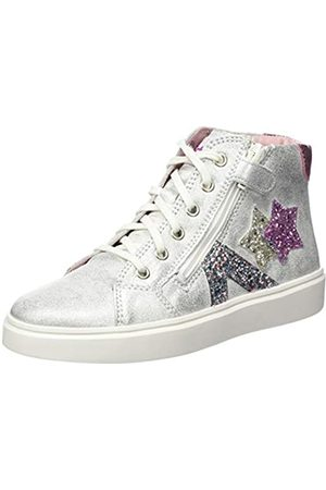Richter Kinderschuhe Mädchen Flora Star Hohe Sneaker, (Silver/Candy 0201)