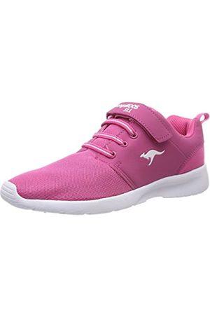 KangaROOS Unisex-Kinder Hinu EV Sneaker, (Daisy Pink)