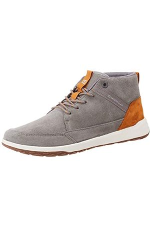 Caterpillar Herren Schuhe - Herren Quest Mid Hohe Sneaker, (Medium Charcoal Grey)