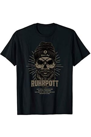 SHIRTS4MONEY Ruhrpott Shirt - Hipster skull
