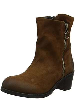 Fly London Damen Zent483fly Kurzschaft Stiefel, (Cognac 007)