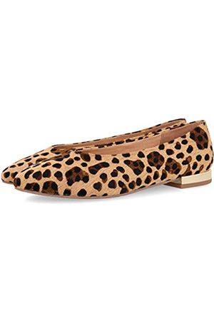 Gioseppo Damen Durham Geschlossene Ballerinas, Mehrfarbig (Leopardo Leopardo)
