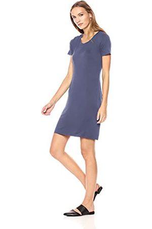 Daily Ritual Amazon-Marke: , T-Shirtkleid für Damen, kurzärmelig, Rundhalsausschnitt