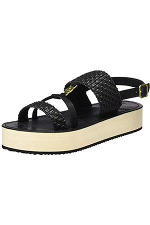 GANT Footwear Damen MIDVILLE Slingback Sandalen, (Cognac/Coral G459)