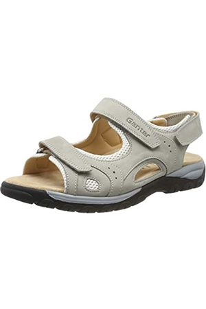 Ganter Damen Happy-H Geschlossene Sandalen, (Grey 60000)