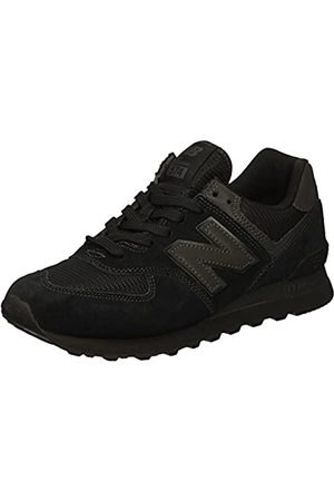 New Balance Herren 574v2 Core Sneaker, (Black Black)