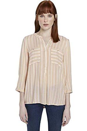 TOM TAILOR Damen Blusen, Shirts & Hemden Gestreifte Bluse mit Taschen