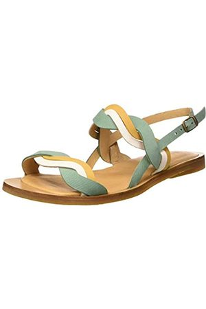 El Naturalista Damen N5188 Pleasant Tulip Peeptoe Sandalen, Mehrfarbig (Mint Mixed Mint Mixed)