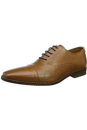 REK69|#Red Tape Herren Stanton Oxfords, (Tan)
