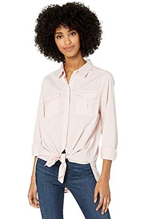 Goodthreads Lightweight Twill Long-Sleeve Utility dress-shirts, Vintage Pink