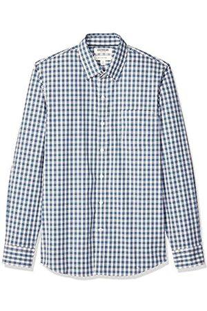 Goodthreads Amazon-Marke: Herrenhemd, langärmlig, schmale Passform, Comfort Stretch, pflegeleicht, aus Popeline