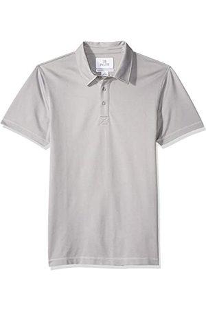 28 Palms Amazon-Marke - Herren Poloshirt, Standard-Passform Performance-Baumwolle, tropisches Muster, Piqué, Golf