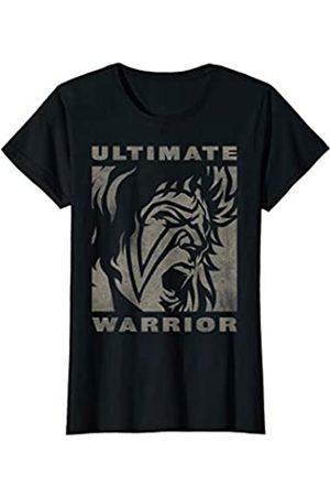 WWE Damen Ultimate Warrior Face T-Shirt