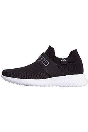 Kappa PEC Low Top   Sneakers für Sport & Freizeit   angesagter -Style für modebewusste Damen & Herren   atmungsaktiv & stabil   hoher Tragekomfort   (1110 Black/White)