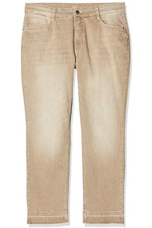 Mac Damen Melanie Pipe Fringe Glam Straight Jeans