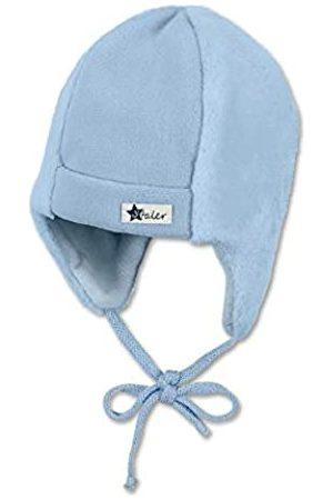 Sterntaler Baby-Mütze für Jungen mit Ohrenklappen und Bindebändern, Alter: 3-4 Monate