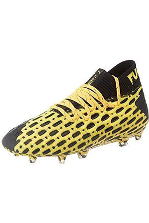 Puma Unisex-Kinder Future 5.1 Netfit Fg/ag Jr Botas de fútbol, (Ultra Yellow Black)