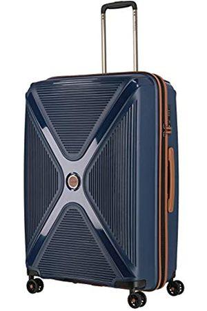 Titan Gepäck Serie PARADOXX: Hartschalen Trolleys mit Akzenten in Leder Optik, Koffer 4-Rad groß mit TSA Schloss, 833404-20, 76 cm