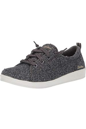 Skechers Damen Madison Ave-Promising Sneaker, (Charcoal Wool Ccl)
