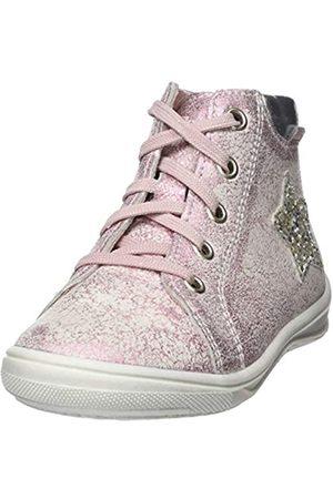 Richter Kinderschuhe Mädchen ReginaS Hohe Sneaker, Pink (Candy/Silver 3111)