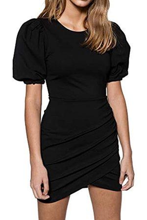 Ivyrevel Damen Short Puff Sleeve Dress Kleid