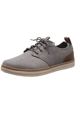 Skechers Men's HESTON- ROGIC Oxfords, Grey (Grey Gry)