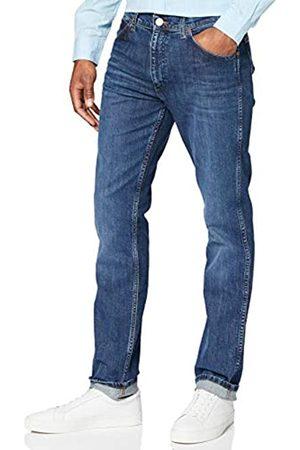 Wrangler Herren Greensboro INDIGOOD Straight Jeans