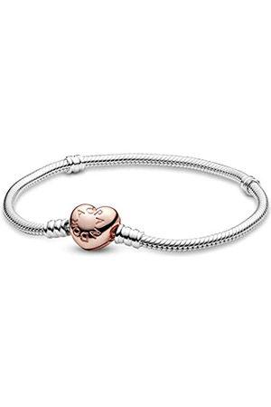 PANDORA Damen-Charm-Armbänder 925 Sterlingsilber 580719-17