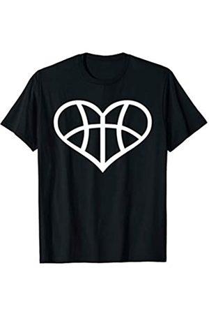 Basketball Geschenke Basketball Herz T-Shirt