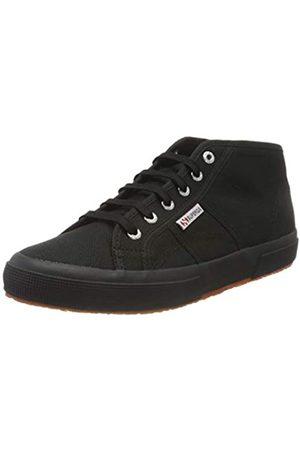 Superga 2754 Cotu, Unisex-Erwachsene Hohe Sneaker, (Full Black 996), 35 EU