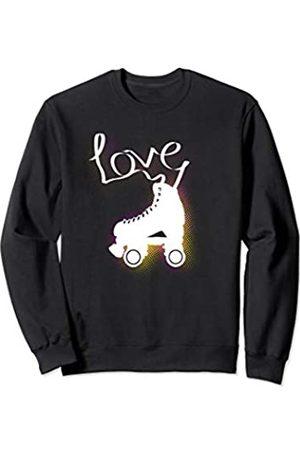 Rollkunstlauf Rollschuh Roller Geschenk Weihnacht Rollkunstlauf Queen Girl Rollschuh Sport Love Geburtstag Sweatshirt