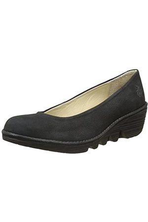 Fly London Damen Wedge Schuhe, (Black/Black 072)