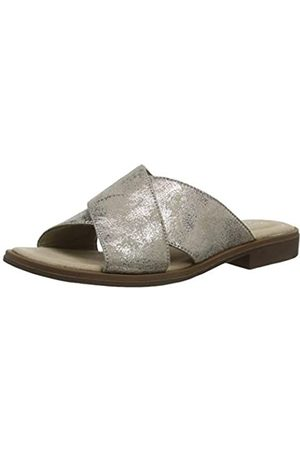 Clarks Damen Declan Ivy Geschlossene Sandalen, (Pewter Metallic Pewter Metallic)